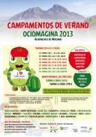 Cartel campamento verano ociomagina 2013+peq