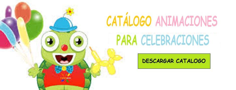Catálogo Animaciones para Celebraciones